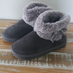 Fur lined boots/booties h&m 12-13